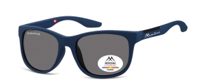 MS313B;; Blu + nero  Polarized - Rubbertouch - Soft Pouch Included ;54;19;135