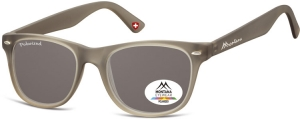 MP10B;;Grigio + lenti sfumate<br><br>Polarized - Matt finishing - Soft Pouch Included;53;19;147