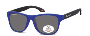 MP38D;; Blu + nero  Polarized - Rubbertouch - Soft Pouch Included ;54;17;140