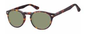 SG-CP148;; Tartaruga + lenti G15  Injected CP Sunglasses - Optical Quality - UV400 - CAT 3. - Soft Pouch Included ;49;21;145