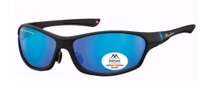 SP307A;;Nero + Revo blu Polarized - Revo lenses - Rubbertouch - Case included;64;15;124
