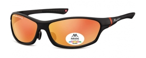 SP307B;;Nero + Revo rosso Polarized - Revo lenses - Rubbertouch - Case included;64;15;124